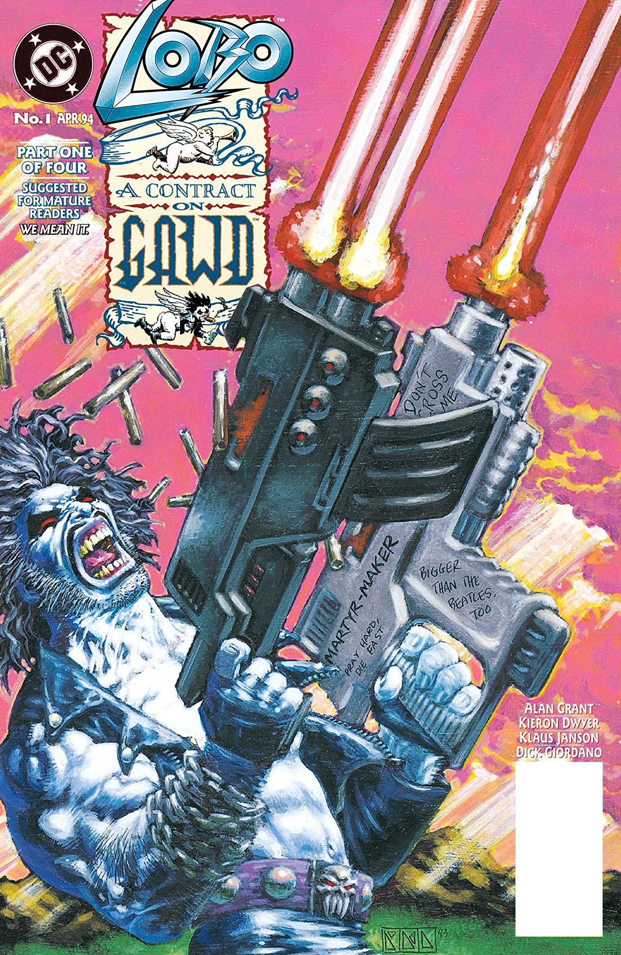 Lobo: A Contract on Gawd (1994) #1