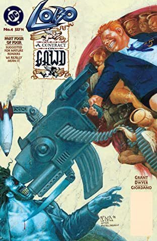 Lobo: A Contract on Gawd (1994) #4