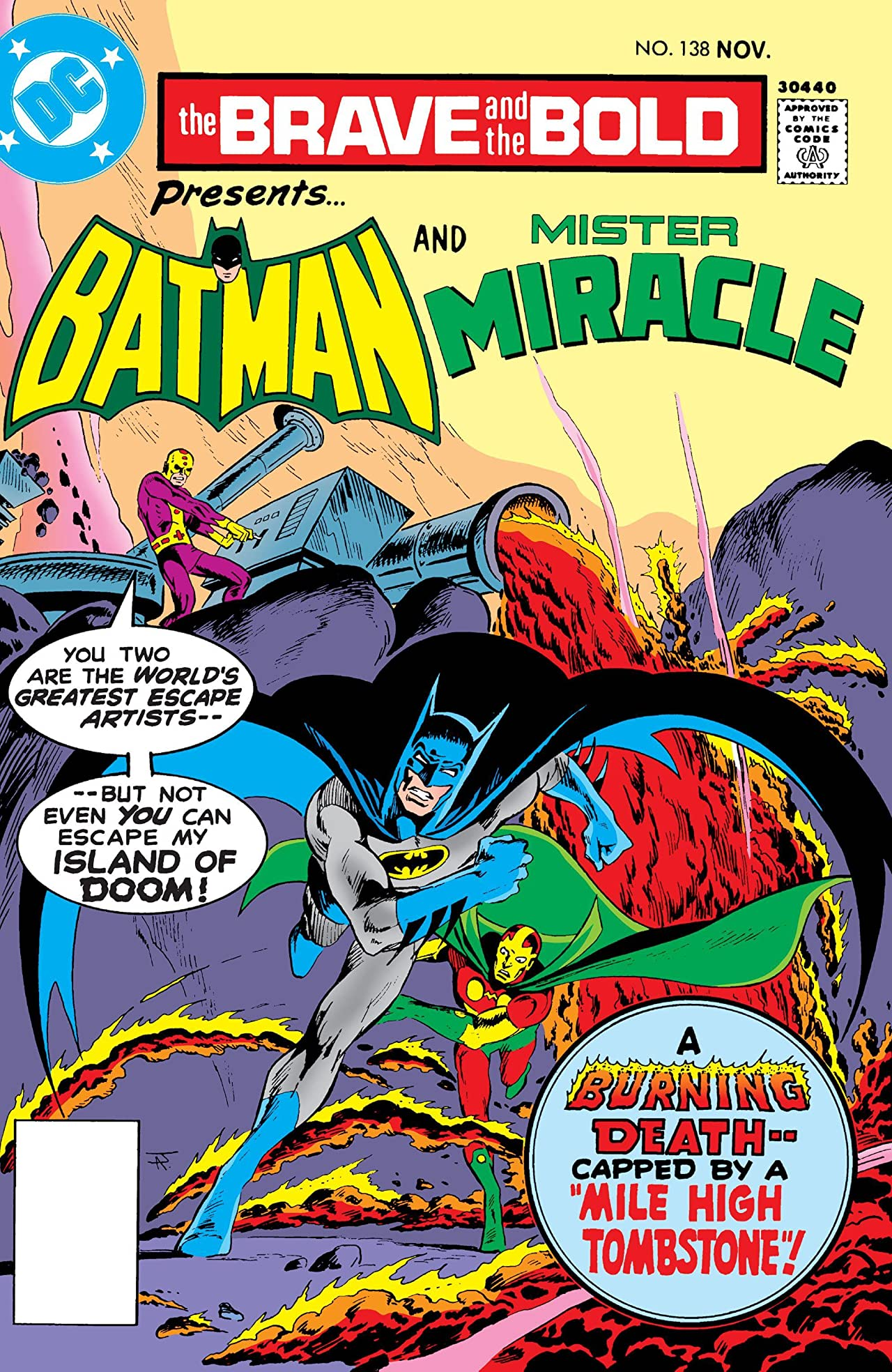 The Brave and the Bold (1955-1983) #138
