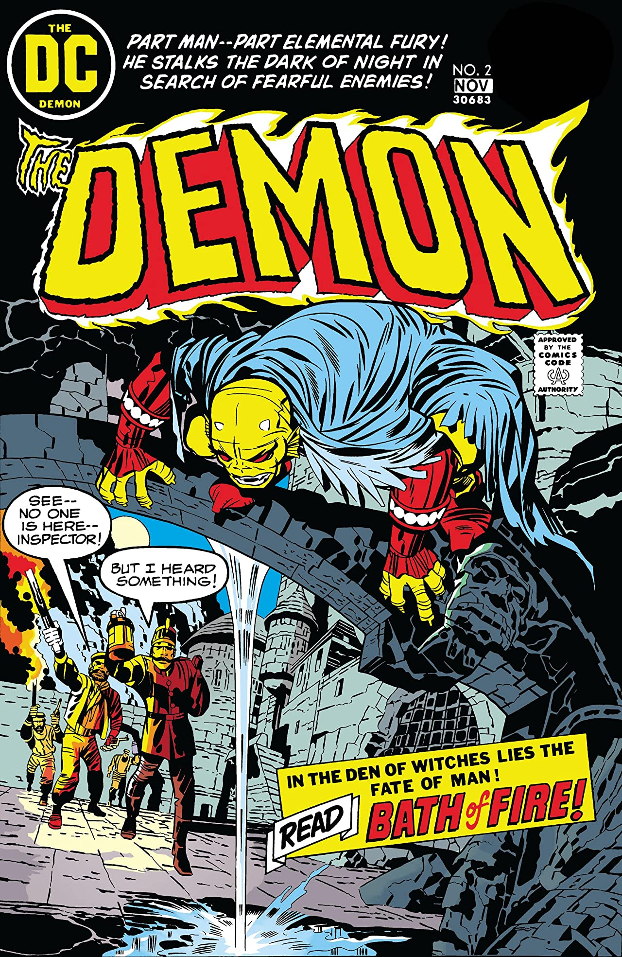 The Demon (1972-1974) #2