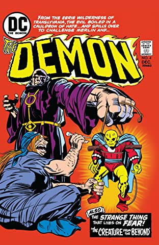 The Demon (1972-1974) No.4