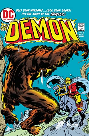 The Demon (1972-1974) No.6