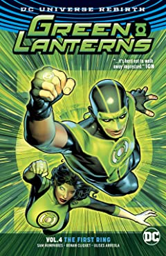 Green Lanterns (2016-) Tome 4: The First Ring