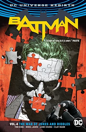 Batman (2016-) Vol. 4: The War of Jokes and Riddles