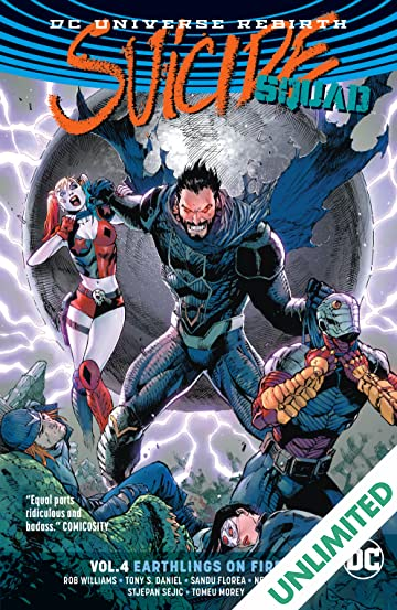 Suicide Squad (2016-) Vol. 4: Earthlings on Fire