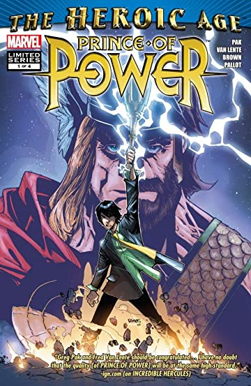 Heroic Age: Prince of Power #1 (of 4)
