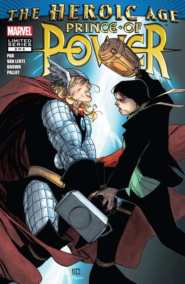 Heroic Age: Prince of Power #2 (of 4)