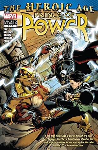 Heroic Age: Prince of Power #3 (of 4)