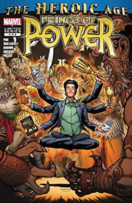 Heroic Age: Prince of Power #4 (of 4)