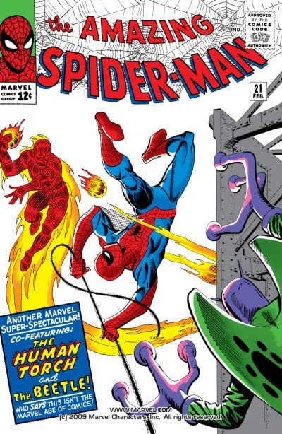 Amazing Spider-Man (1963-1998) #21