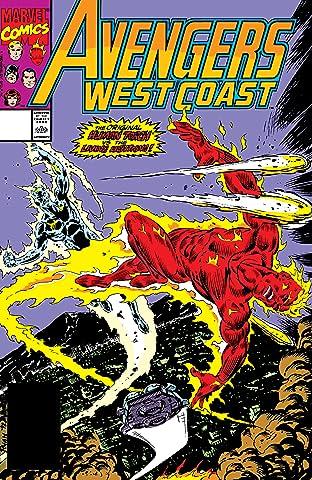 Avengers West Coast (1985-1994) #63