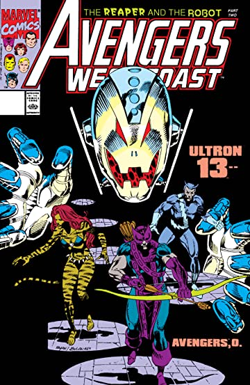 Avengers West Coast (1985-1994) #66
