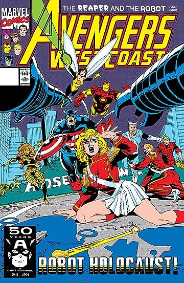 Avengers West Coast (1985-1994) #68