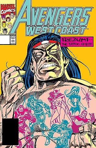 Avengers West Coast (1985-1994) #72
