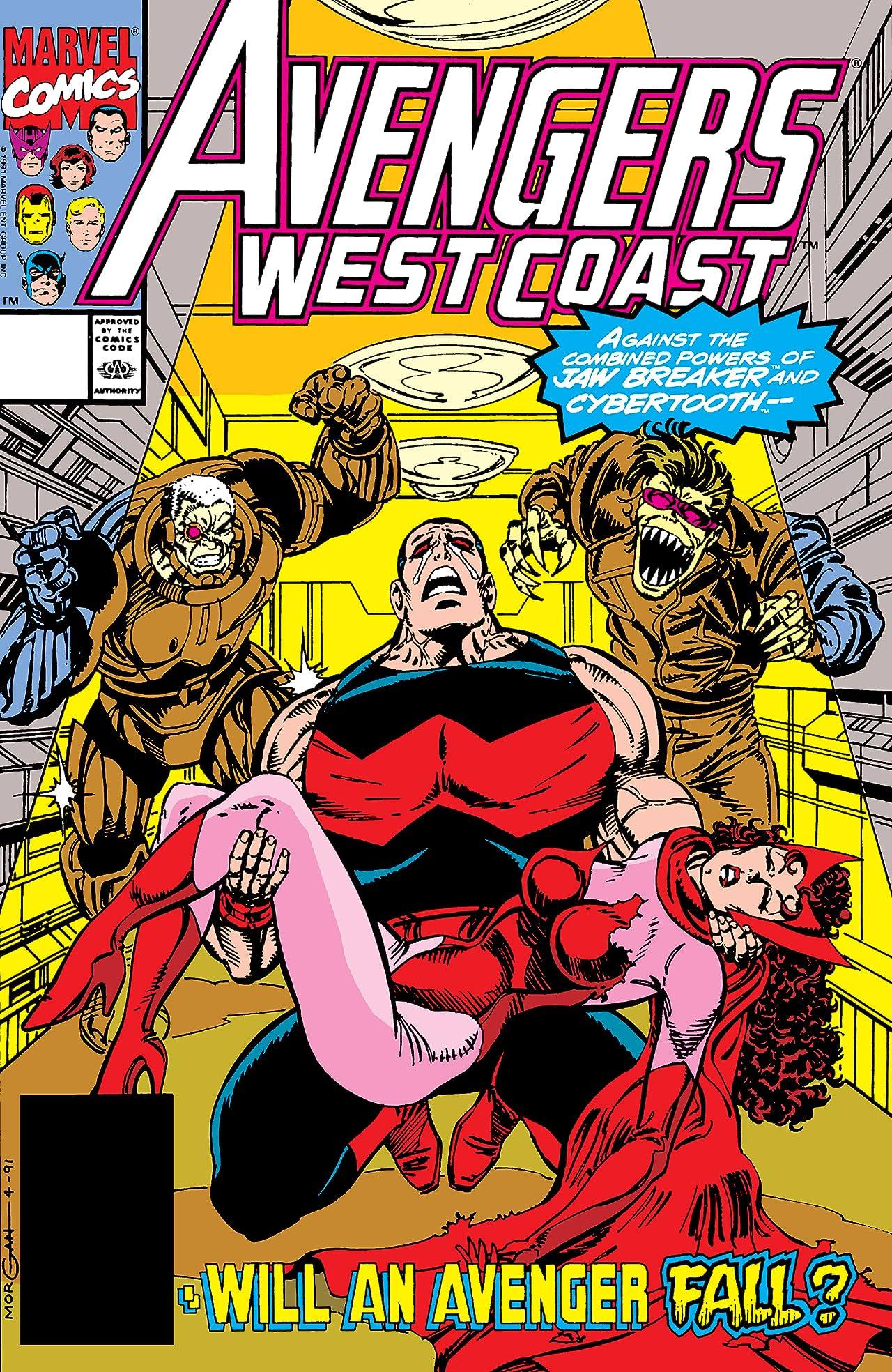 Avengers West Coast (1985-1994) #73