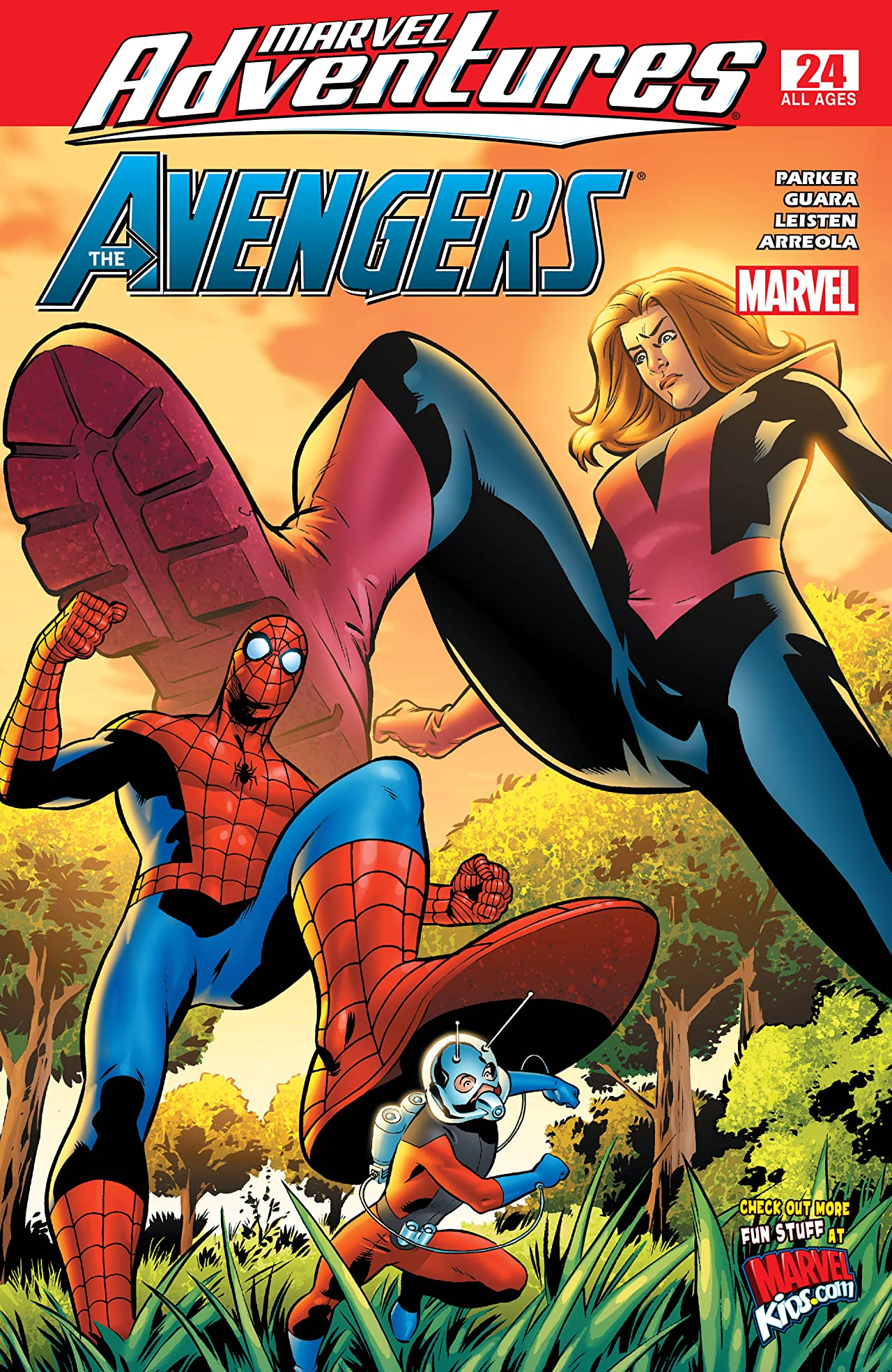 Marvel Adventures The Avengers (2006-2009) #24