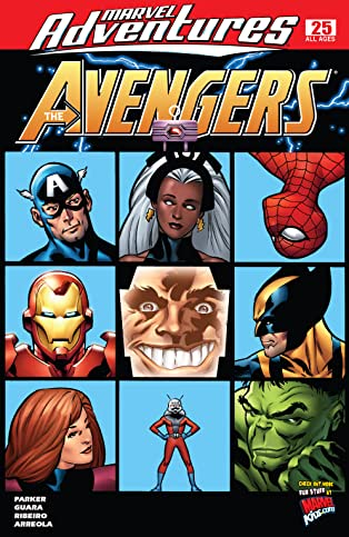 Marvel Adventures The Avengers (2006-2009) #25