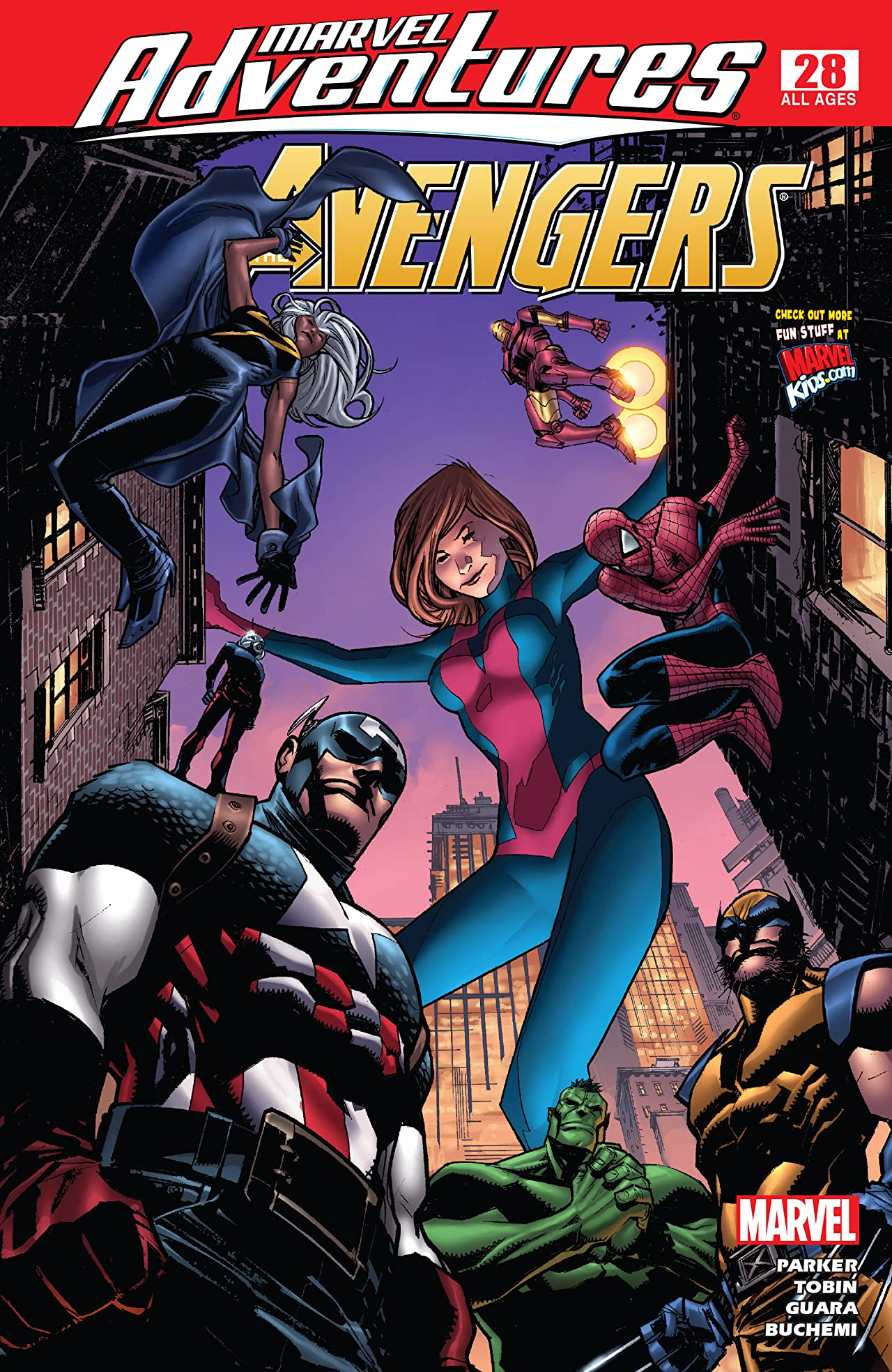 Marvel Adventures The Avengers (2006-2009) #28