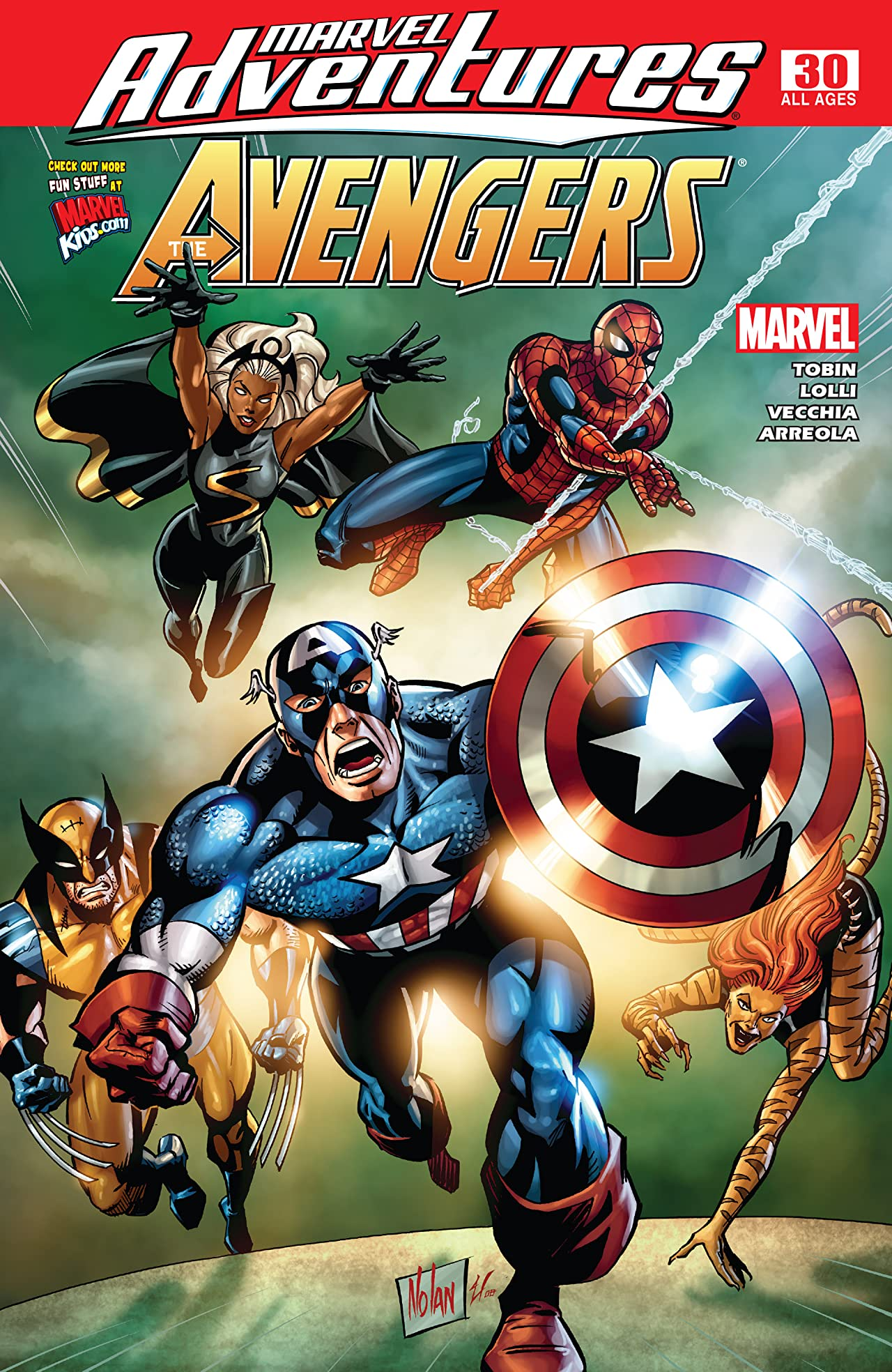 Marvel Adventures The Avengers (2006-2009) #30