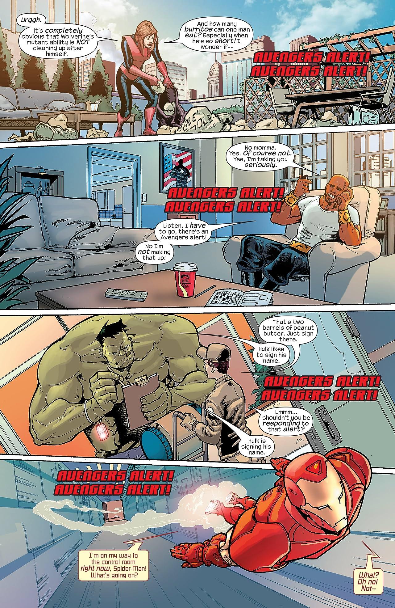 Marvel Adventures The Avengers (2006-2009) #32