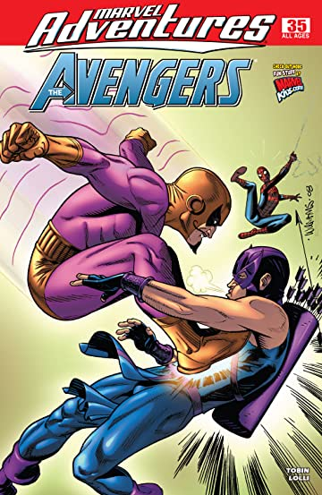 Marvel Adventures The Avengers (2006-2009) #35
