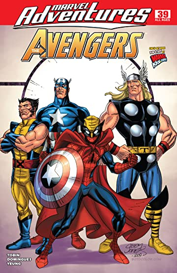 Marvel Adventures The Avengers (2006-2009) #39