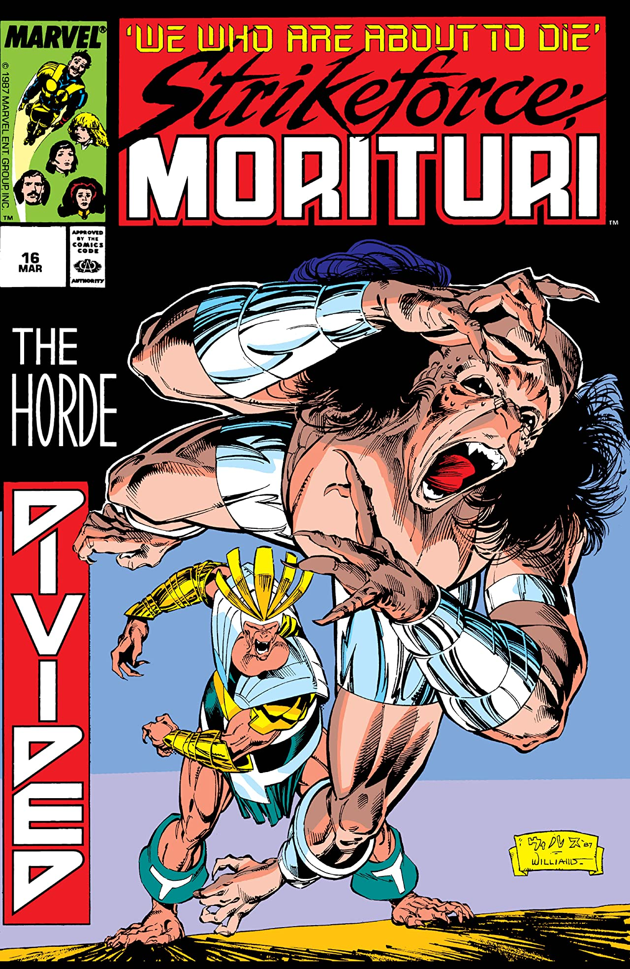 Strikeforce: Morituri (1986-1989) #16