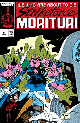 Strikeforce: Morituri (1986-1989) #21