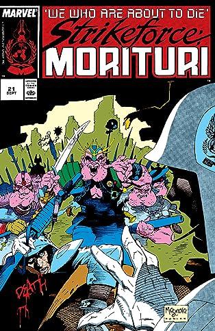 Strikeforce: Morituri (1986-1989) #21