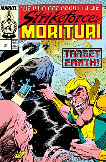 Strikeforce: Morituri (1986-1989) #22