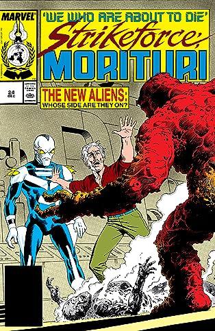 Strikeforce: Morituri (1986-1989) #24