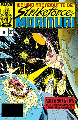 Strikeforce: Morituri (1986-1989) #25