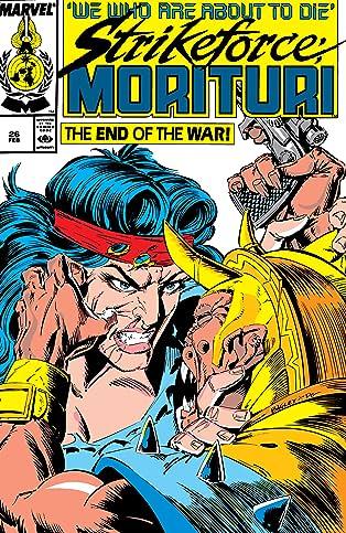 Strikeforce: Morituri (1986-1989) #26