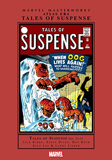 Atlas Era Tales of Suspense Masterworks Vol. 3