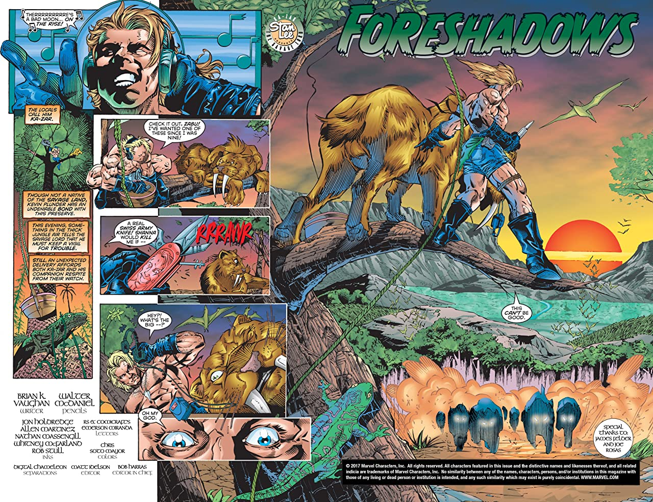 Ka-Zar by Mark Waid and Andy Kubert Vol. 2