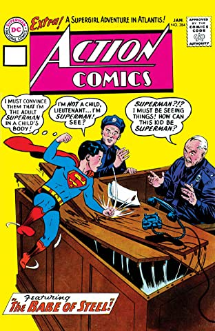 Action Comics (1938-2011) No.284
