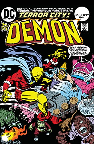 The Demon (1972-1974) #12