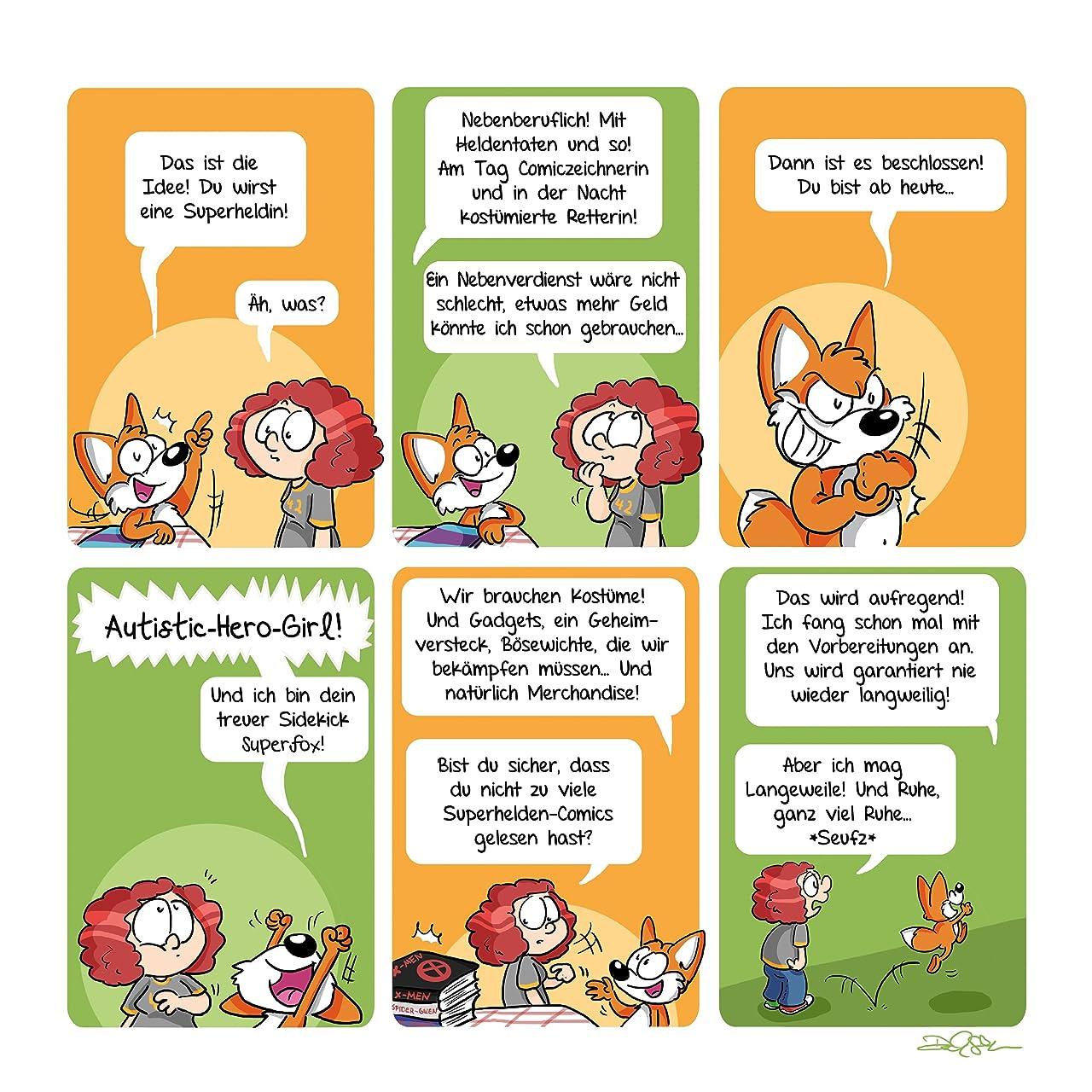 Die Abenteuer von Autistic-Hero-Girl