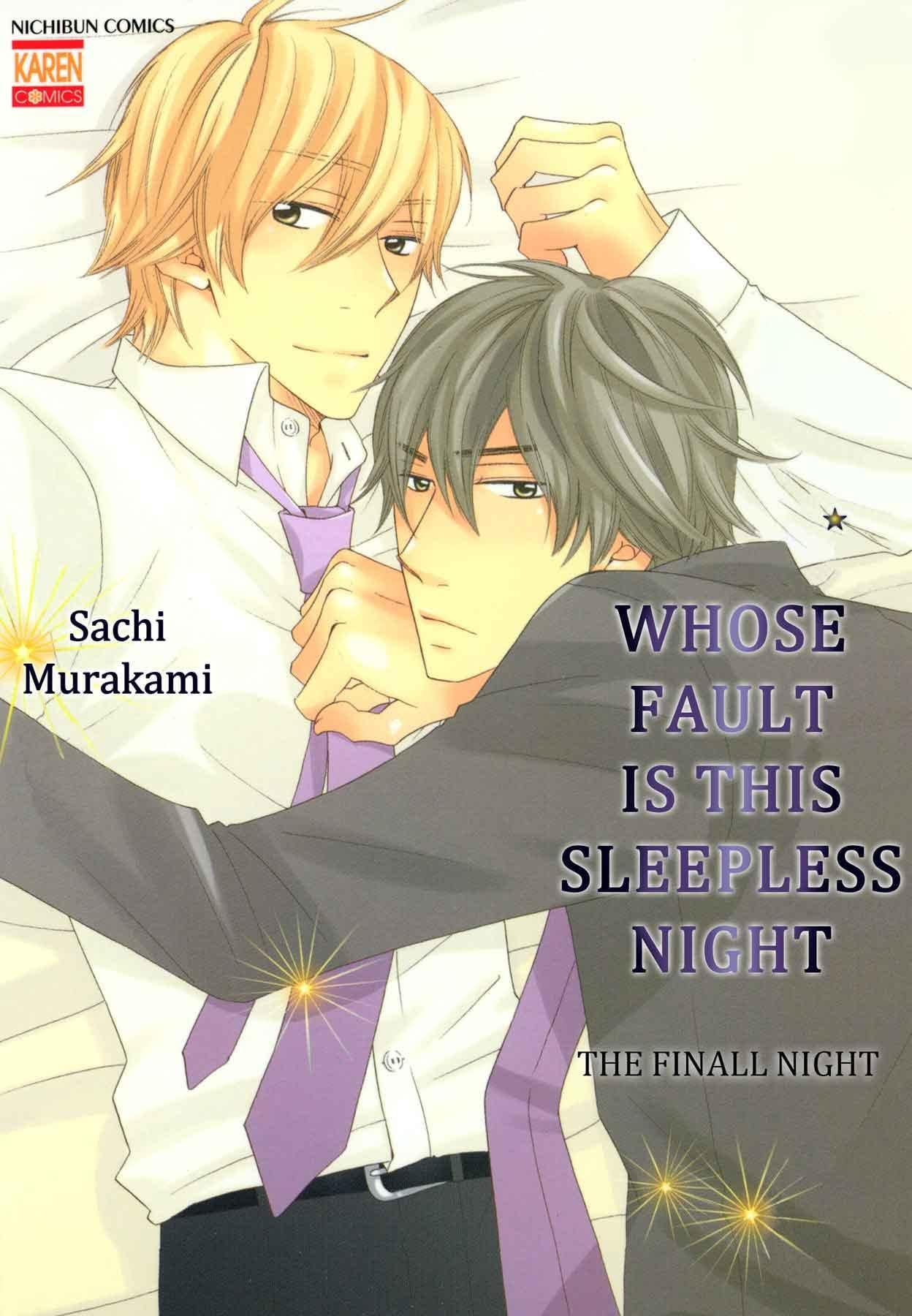 Whose Fault is this Sleepless Night (Yaoi Manga) #4