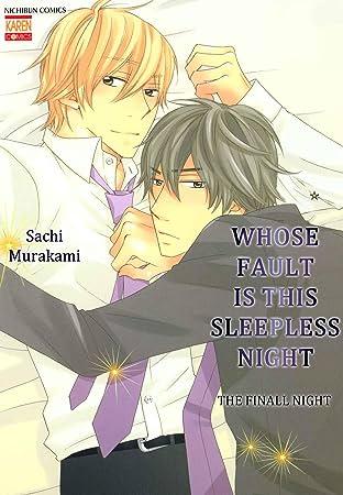 Whose Fault is this Sleepless Night (Yaoi Manga) No.4