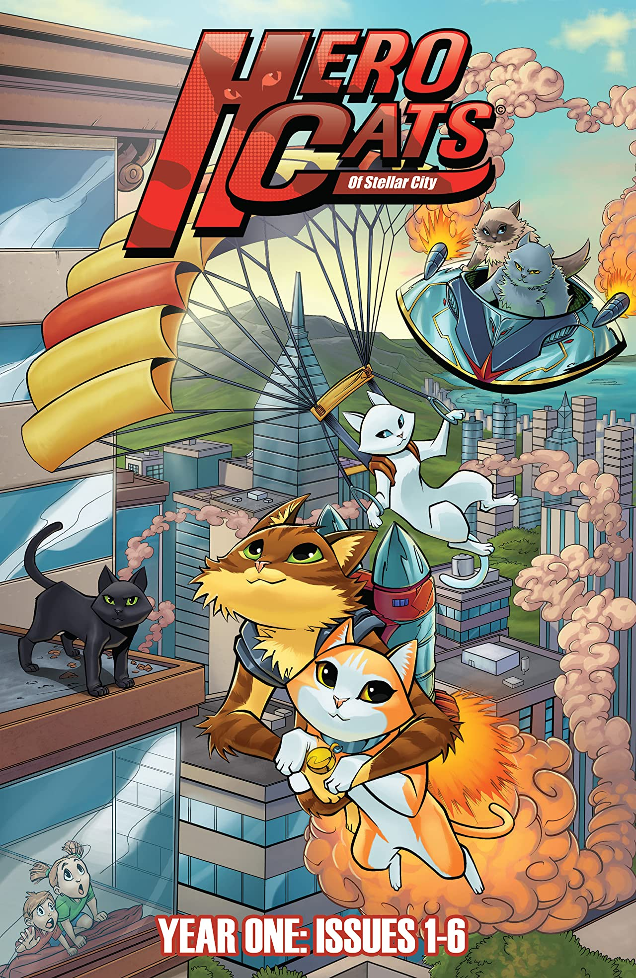 Hero Cats Hardcover Vol. 1