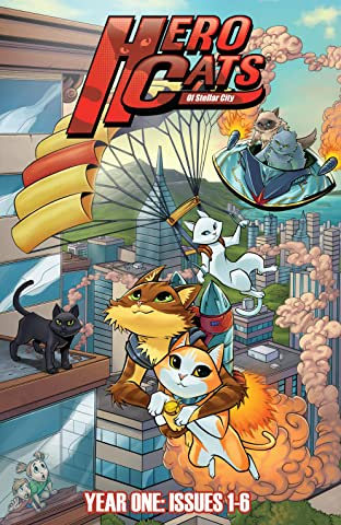 Hero Cats Hardcover Tome 1