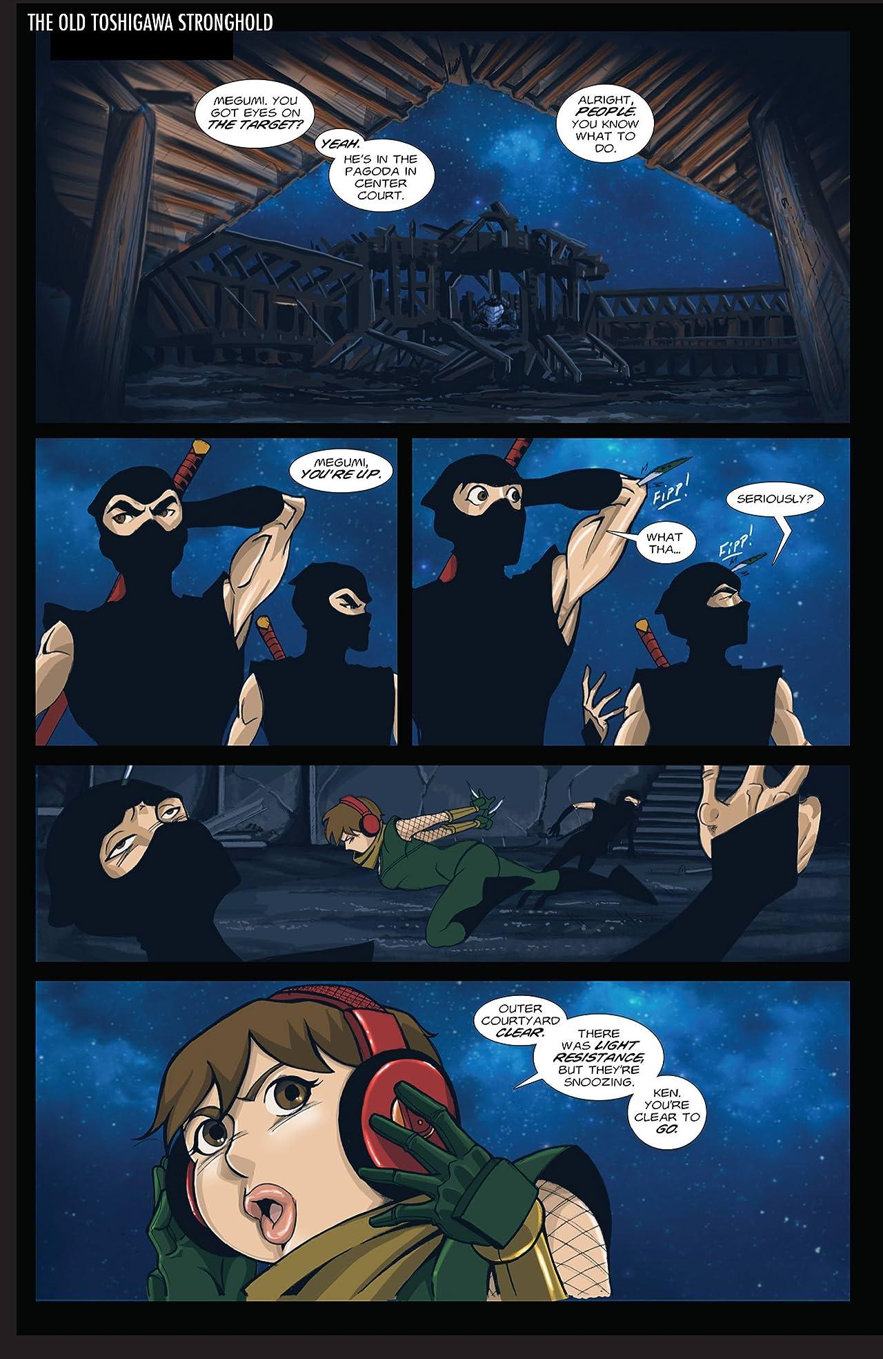 Shinobi Ninja Princess #4: Lightning Oni