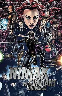Ninjak Vs. the Valiant Universe No.1
