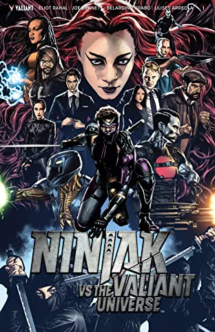 Ninjak Vs. the Valiant Universe No.1