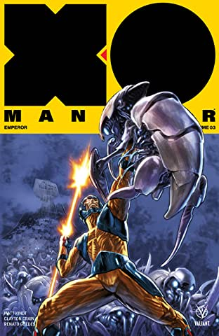 X-O Manowar (2017) Vol. 3: Emperor Vol. 3