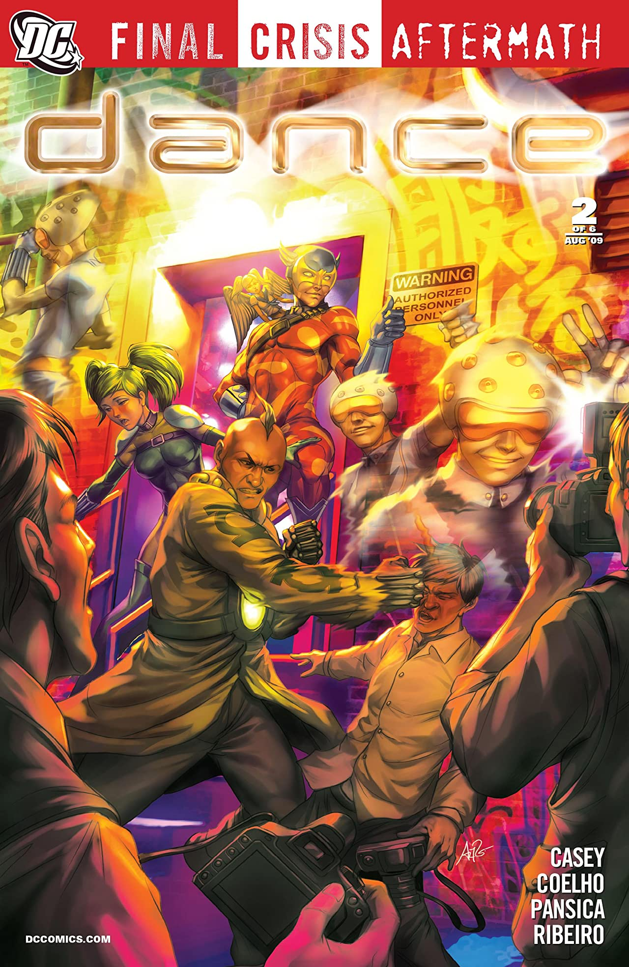 Final Crisis Aftermath: Dance (2009) #2