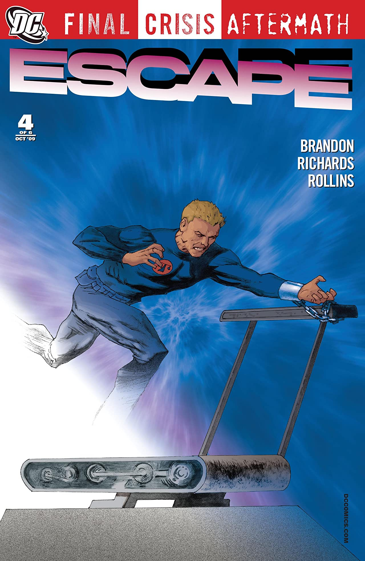 Final Crisis Aftermath: Escape (2009) #4