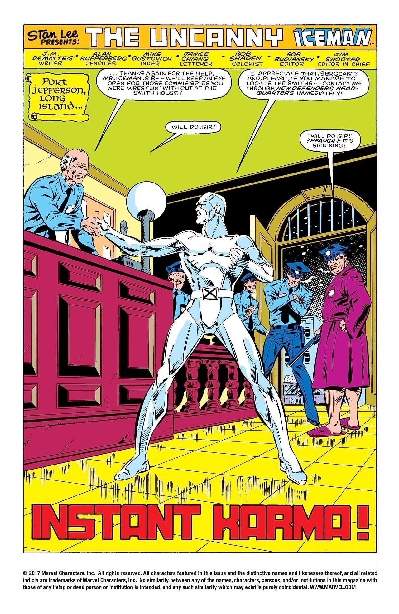 Iceman (1984) #2 (of 4)