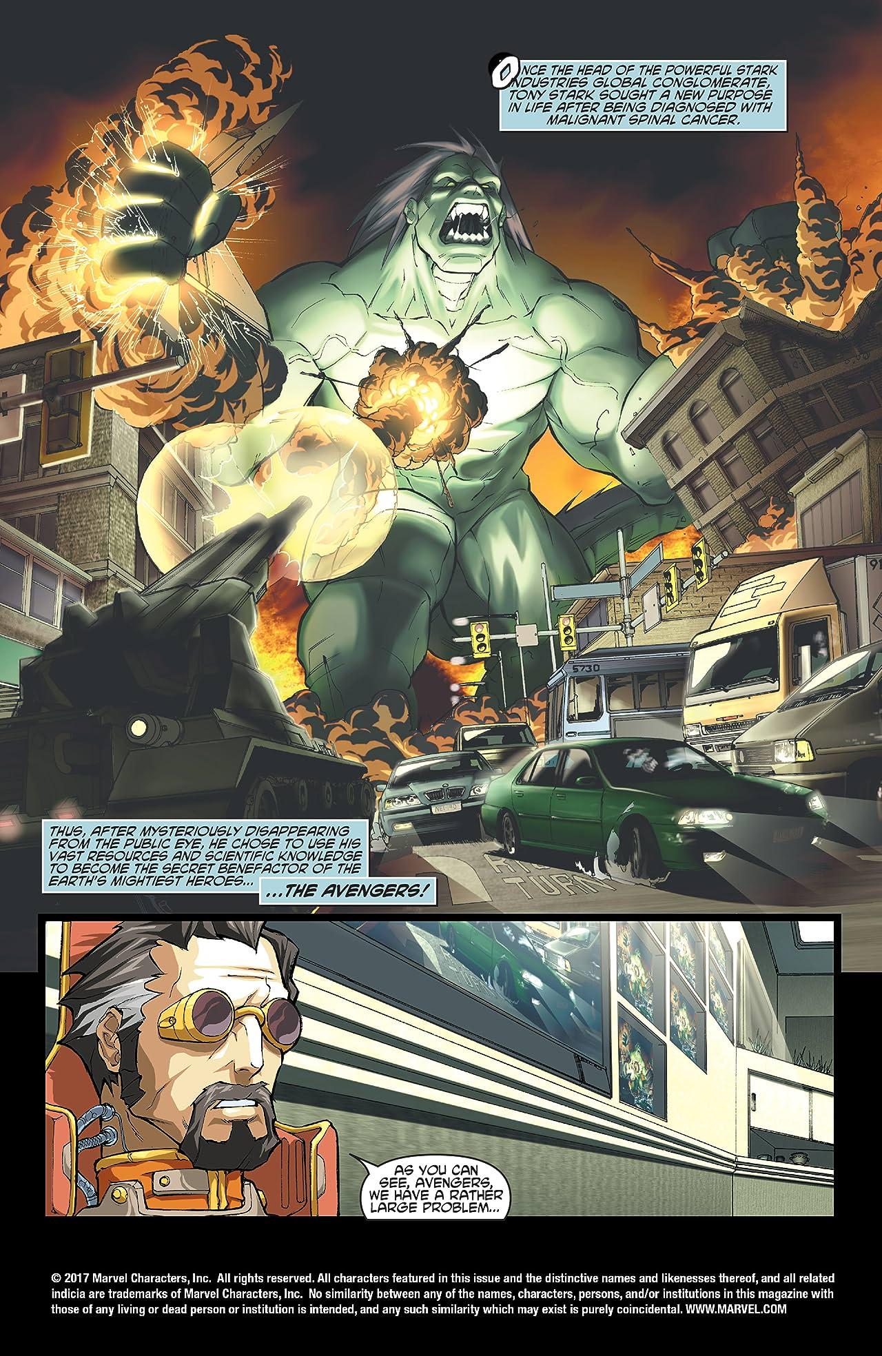 Marvel Mangaverse: Avengers Assemble (2002) #1